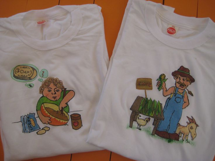 Painting Τ-shirts for personalized gifts