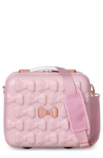 TED BAKER BEAU HARDSHELL VANITY CASE - PINK. #tedbaker #bags # #