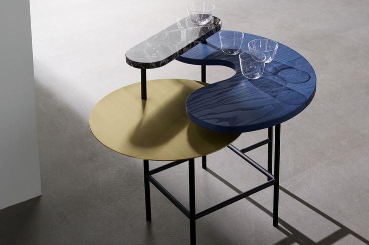 Palette Table JH8 av Jamie Rayon för &Tradition #&tradition #andtradition #marmorbord #soffbord