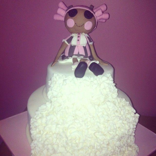 Lalaloopsy Ruffle cake #imadeacake