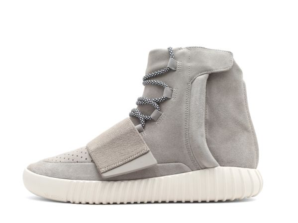 Perfect Adidas Fake Yeezy Boost 750 Grey/White (B35309) - Online Sale by