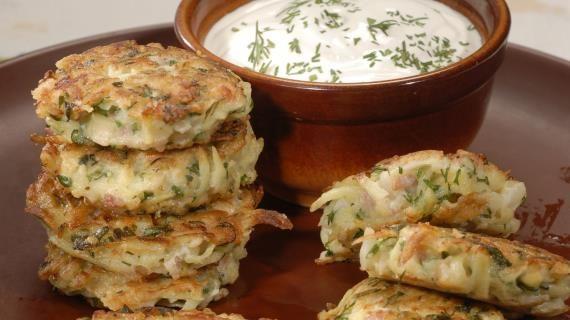 Картофельные оладьи с ветчиной. Пошаговый рецепт с фото, удобный поиск рецептов на Gastronom.ru
