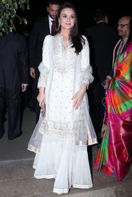 Preity Zinta (in Ritu Kumar)