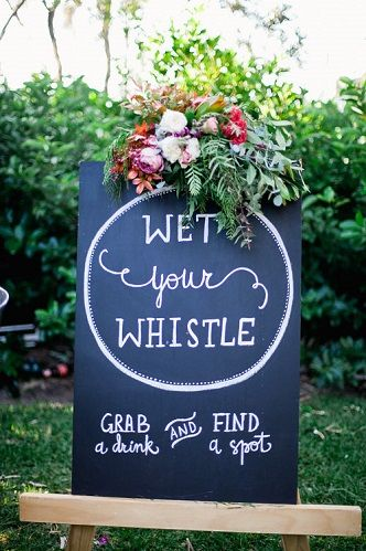 Signage | Lovebird Weddings
