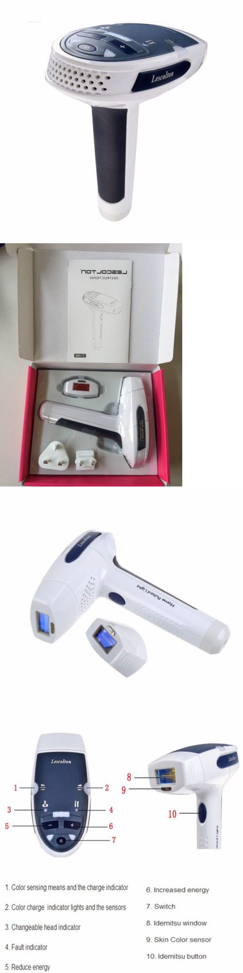 Laser Hair Removal and IPL: Lescolton Laser Ipl Permanent Hair Removal Machine For Face And Body Home Use -> BUY IT NOW ONLY: $133.99 on eBay!