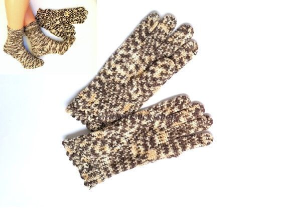 Gloves with fingers Hand knitted white beige gloves with fingers Hand knitted Wool Gloves Women's beige gloves with fingers Girl's gloves by MittensSocksShop on Etsy https://www.etsy.com/no-en/listing/260097444/gloves-with-fingers-hand-knitted-white