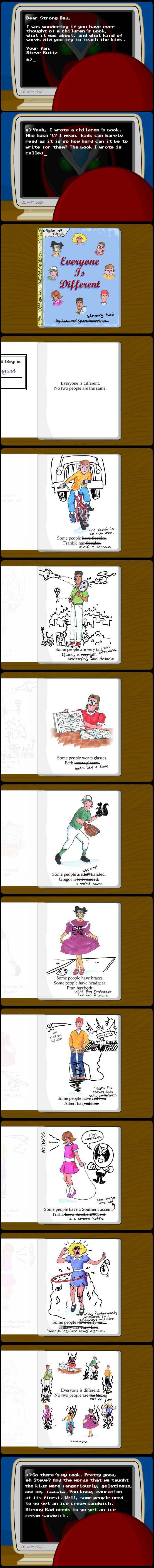#84 Strong Bad Email: Kids Book (homestarrunner)