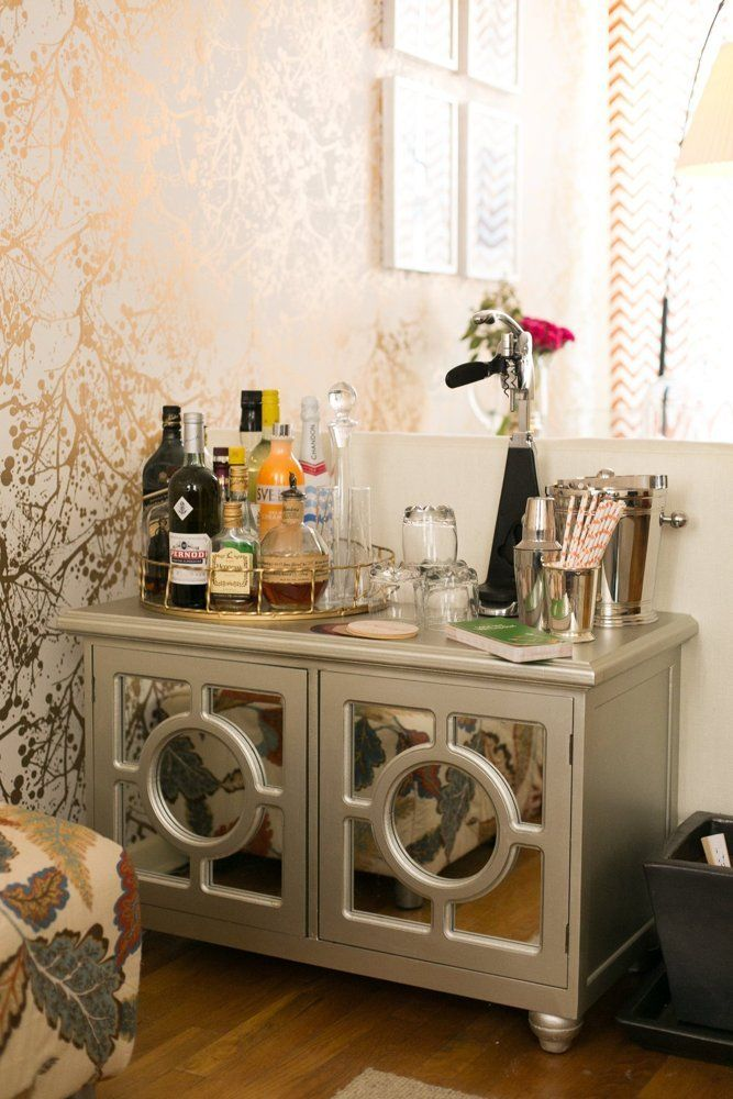 72 best Bar images on Pinterest   Bar carts, Home bars and Mini bars
