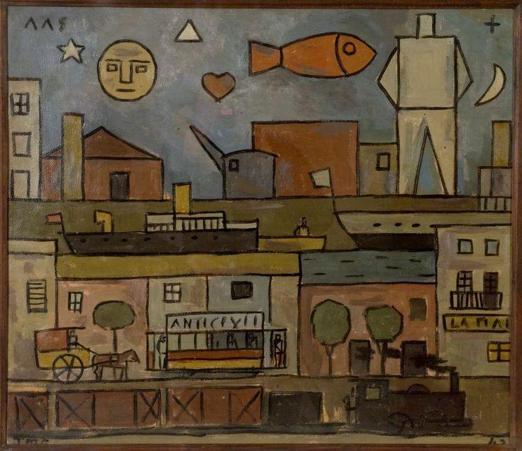 1942 - Joaquín Torres García El Hurgador [Arte en la Red]: Uruguayos (XII) - Torres García.