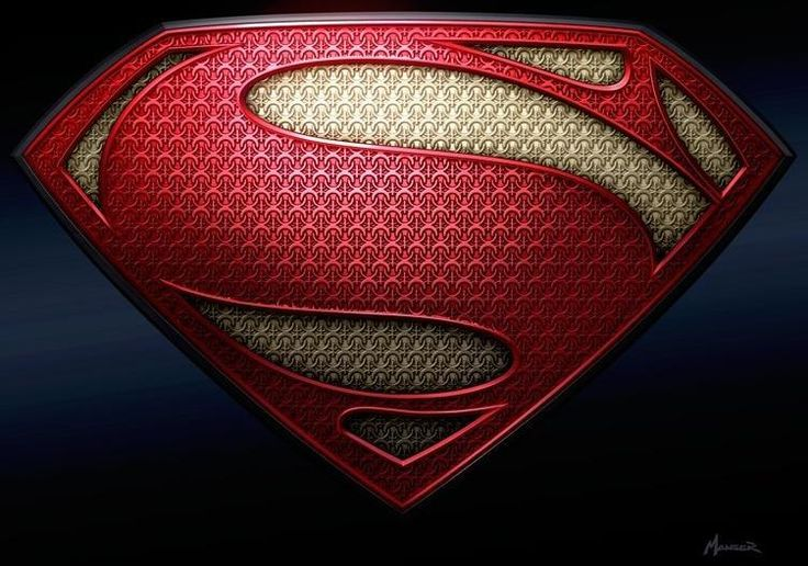 Amazing MAN OF STEEL logo