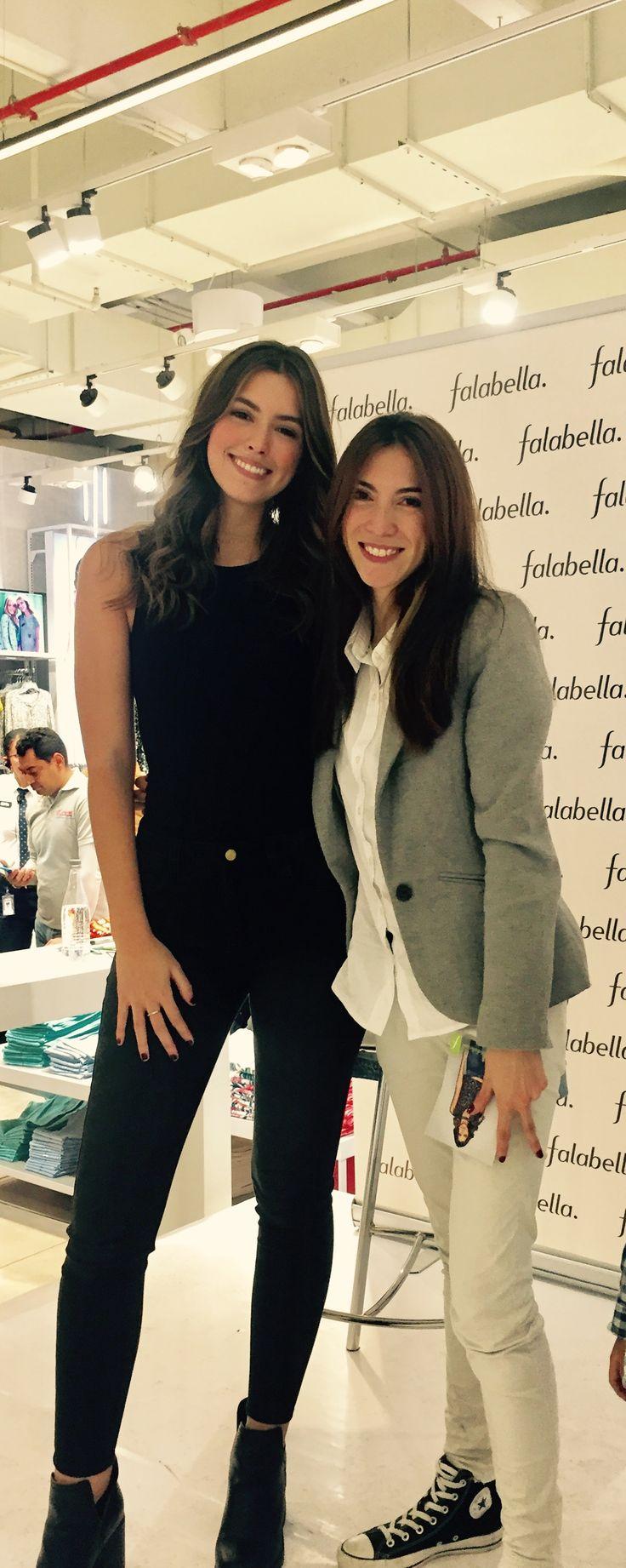 Paulina Vega and me!