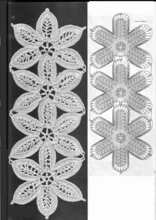 1364 best patrones images on Pinterest   Crochet circles, Crochet ...