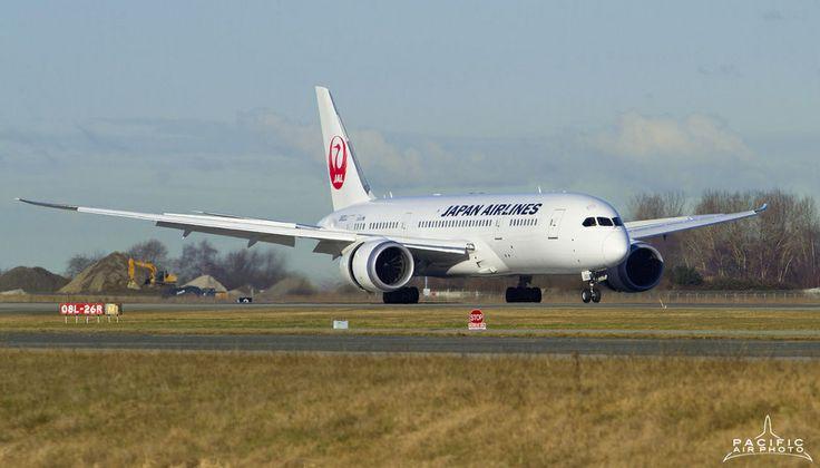 YVR's first scheduled 787!