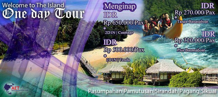 Informasi Harga Paket Tour Pulau Pagang Sumatera Barat