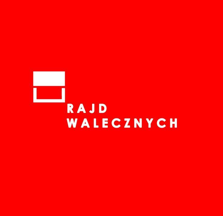 Minimalistyczna forma wpisana w barwy i kształt polskiej flagi. Dwa prostokąty, mające symbolizować pedały rowerowe, nawiązują go charakteru Rajdu Walecznych.