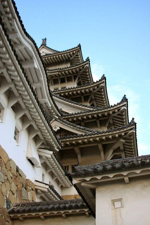 Himeji Castle, JapanFamous Castles, Japanese Castles, Castles Gardens, Château Himeji, Castles Roof, Himeji Por, Drummond Castles, De Himeji, Himeji Castles