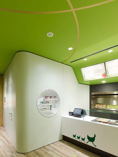 The Wienerwald Restaurant in Munich, Germany – Ippolito Fleitz Group