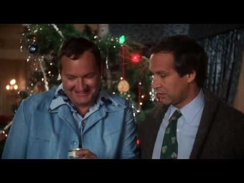 National Lampoon Christmas Vacation FRIED CAT scene