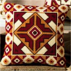 crossstitch geometric pattern - Google Search