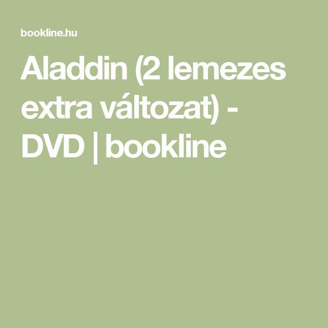 Aladdin (2 lemezes extra változat) - DVD | bookline
