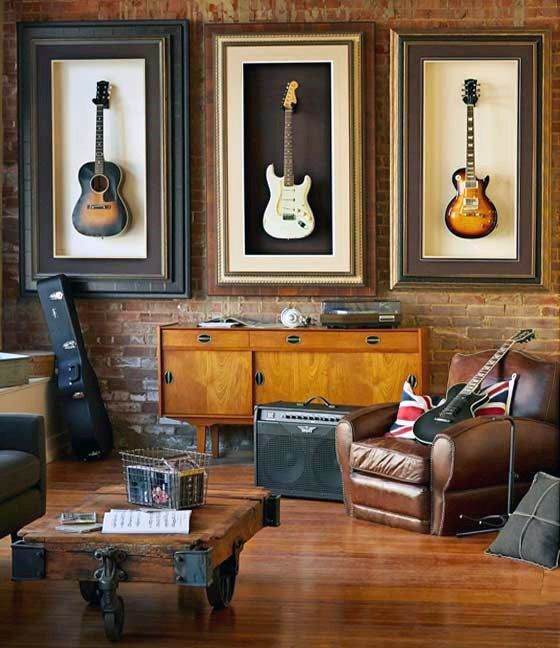 Awesome Wall Decor For Bachelor Pad Living Rooms