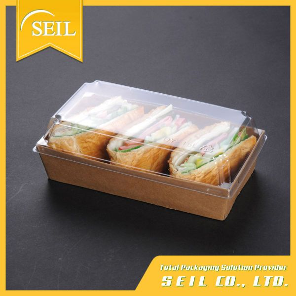 Kraft papel desechable caja de comida, para llevar de papel envase de alimento, sandwich embalaje-Embalaje para Cuencos, Bol-Identificación del producto:50016837295-spanish.alibaba.com