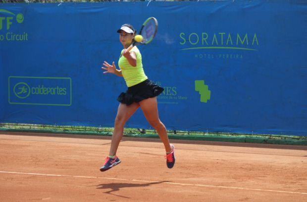 María Fernanda Herazo y Paula Andrea Pérez avanzaron a los cuartos de final del Torneo Internacional Femenino de Tenis Pereira 2017,