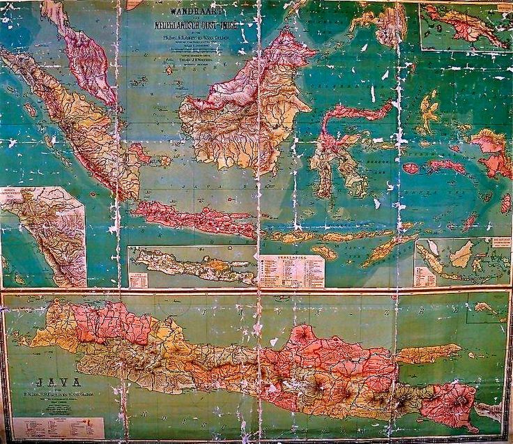 Diaspora Old Map, produced in the 1920′s or 1930′s