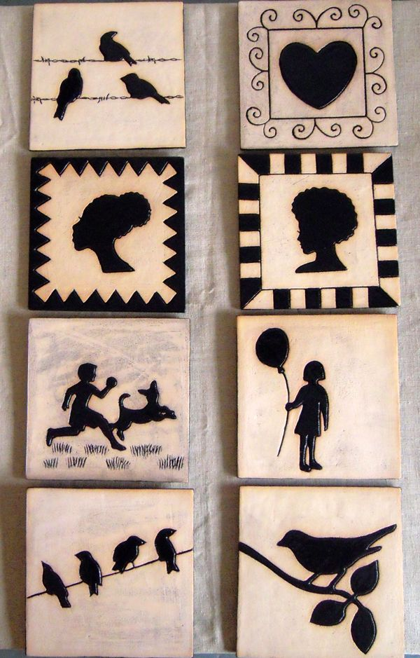 Silhouette tiles