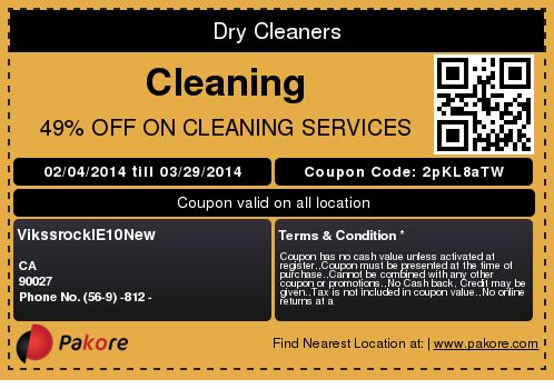 Dry Cleaners Cleaning 49% OFF ON CLEANING SERVICES