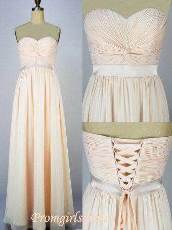 Prom Dresses Long Prom Dresses Strapless by Promgirlsdress on Etsy, $109.00