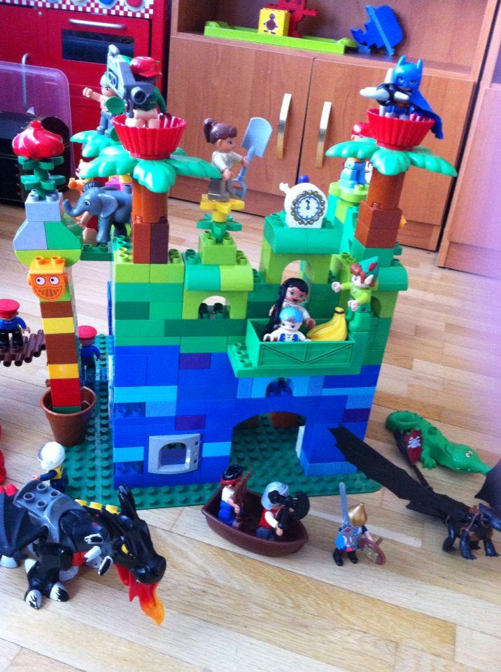 167 besten lego duplo inspiration bilder auf pinterest - Lego duplo ideen ...