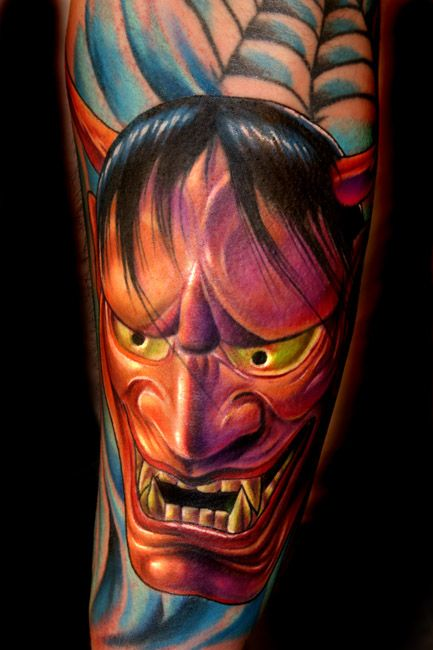 Traditional Hanya Mask Tattoo: 143 Best Images About Hannya Mask Design Tattoo On