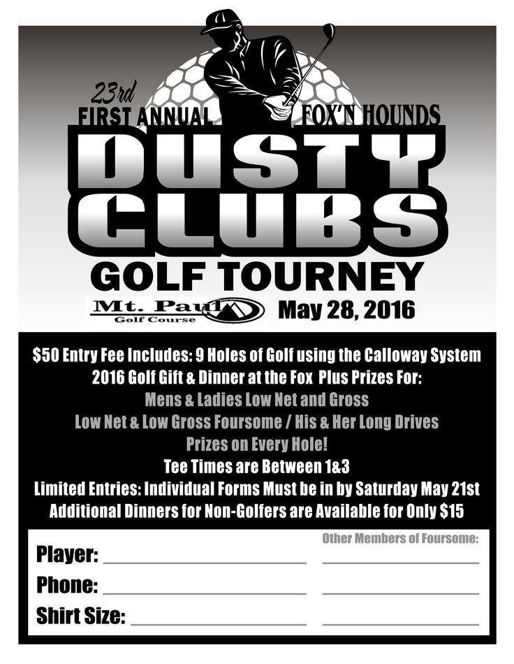 Dusty Clubs 2016 Golf gifts, Fox sports, Club