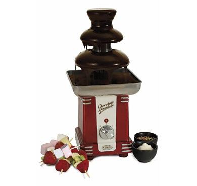 Pour les fêtes entre amis... Pour le gouter des enfants, sortez la fontaine à chocolat, effet garanti!