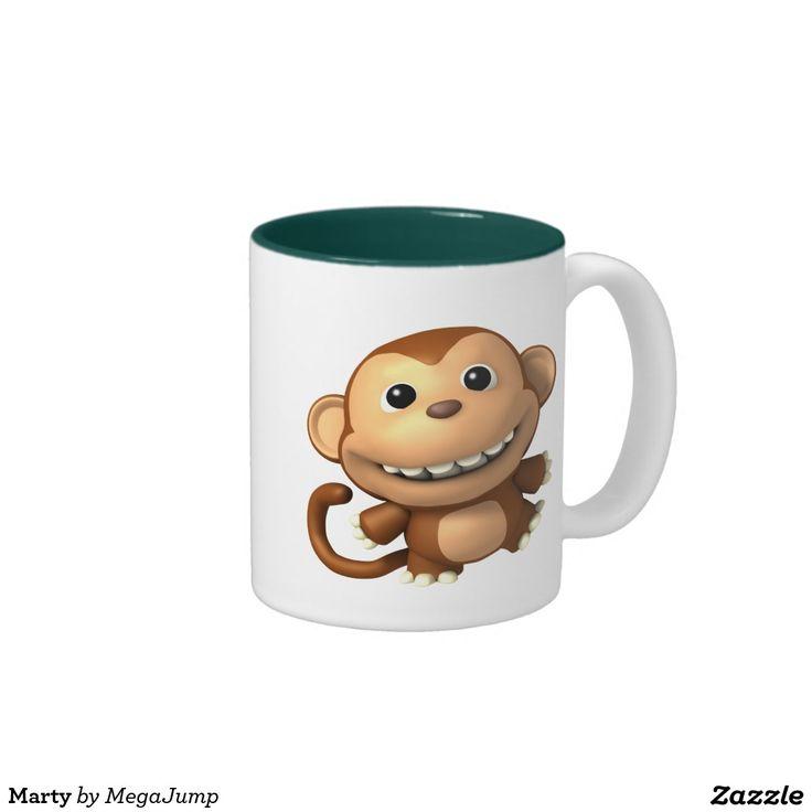 Marty Two-Tone Coffee Mug. Regalos, Gifts. #taza #mug