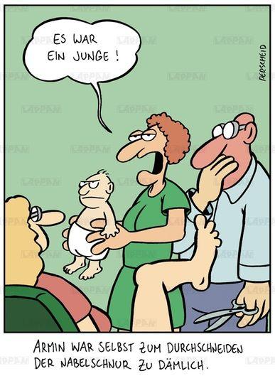 Cartoon Buch zum Thema Väter von Martin Perscheid | STERN.de
