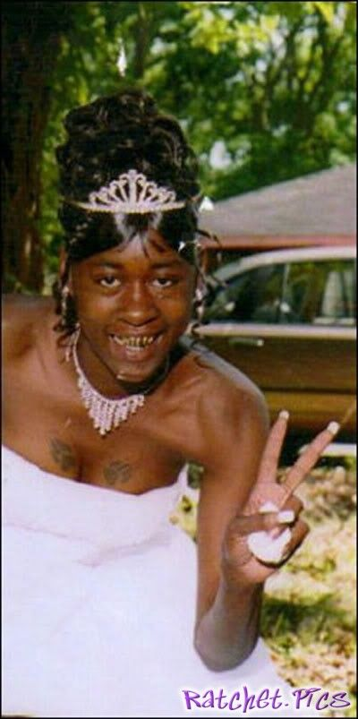 Ghetto weddings - funny ghetto pictures, funny pictures, ratchet pictures