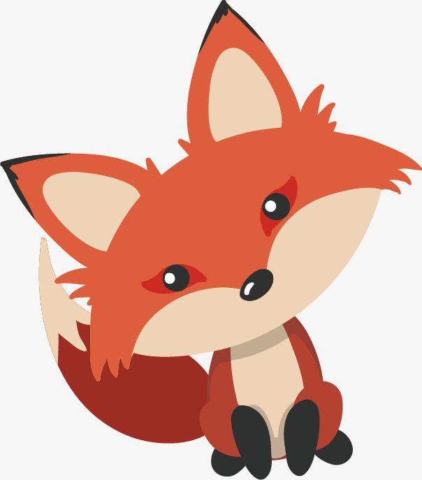Fox Pattern Cartoon Fox Animal Deep Forest Png And Vector Fox Illustration Cute Cartoon Animals Cartoon Animals