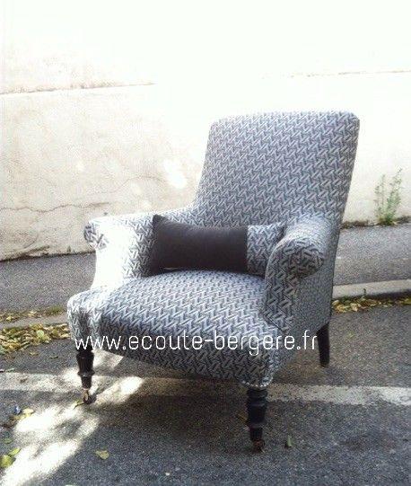 17 meilleures id es propos de fauteuil anglais sur pinterest salons angla - Tissus style anglais ...