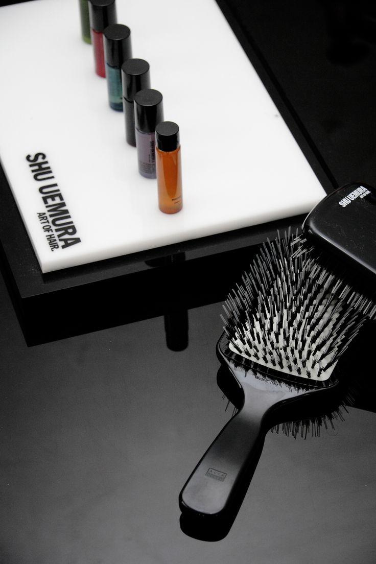 Alla #GoranViler Hair SPA di Trieste potete trovare i prodotti Shu Uemura per la cura dei vostri #capelli <3