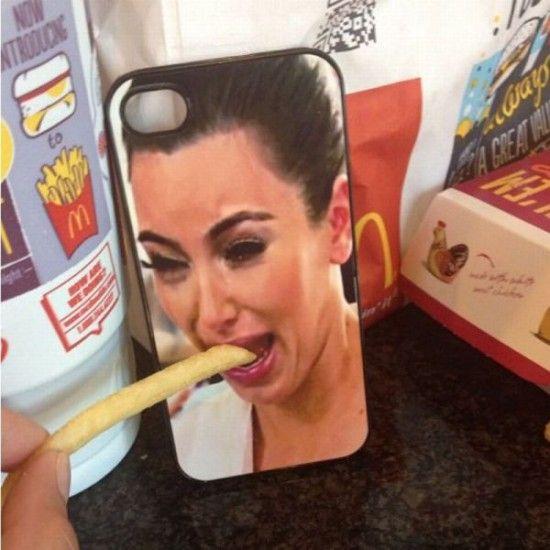 Kim Kardashian Crying iPhone