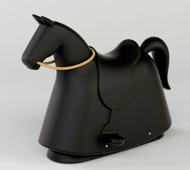 If It's Hip, It's Here: Rocky, A New Modern Rocking Horse for Kids by Marc Newson For Magis Me Too.