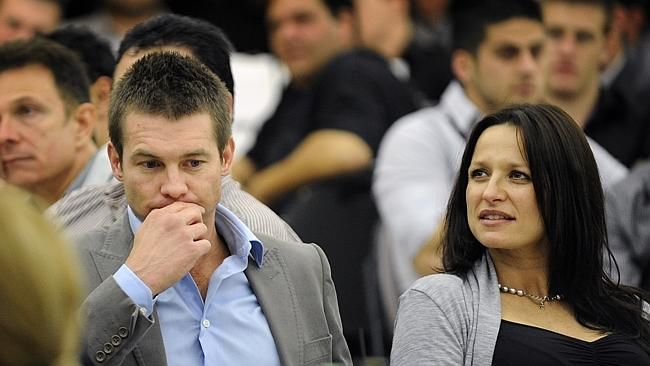 Ex partner of Ben Cousins fined over drugs charge.