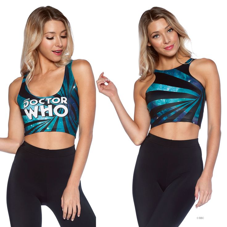 Time Warp Reversible Crop (WW ONLY $55AUD) by Black Milk Clothing