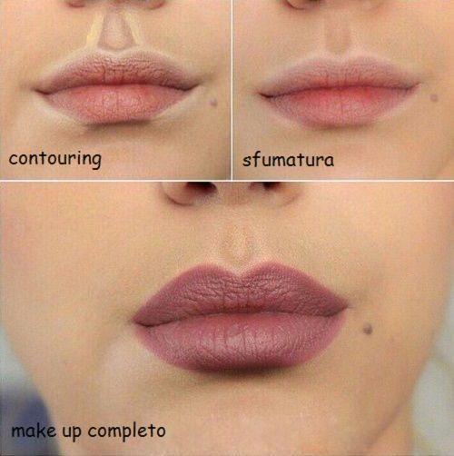 Hai mai sentito parlare del contouring labbra? Scopri in questo articolo la tecnica completa per labbra veramente più voluminose!