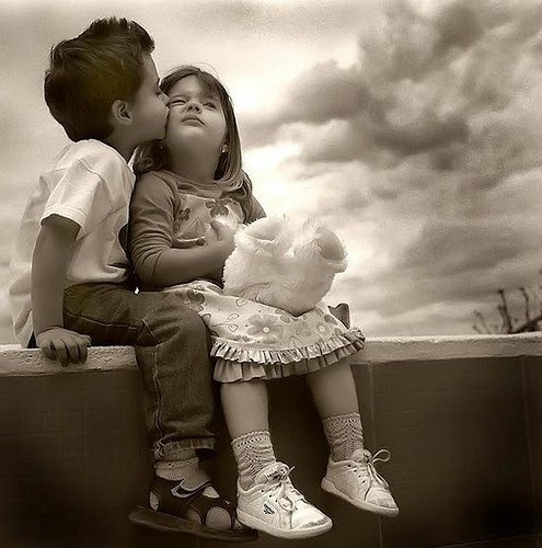 Love from a child's view...so sweet!
