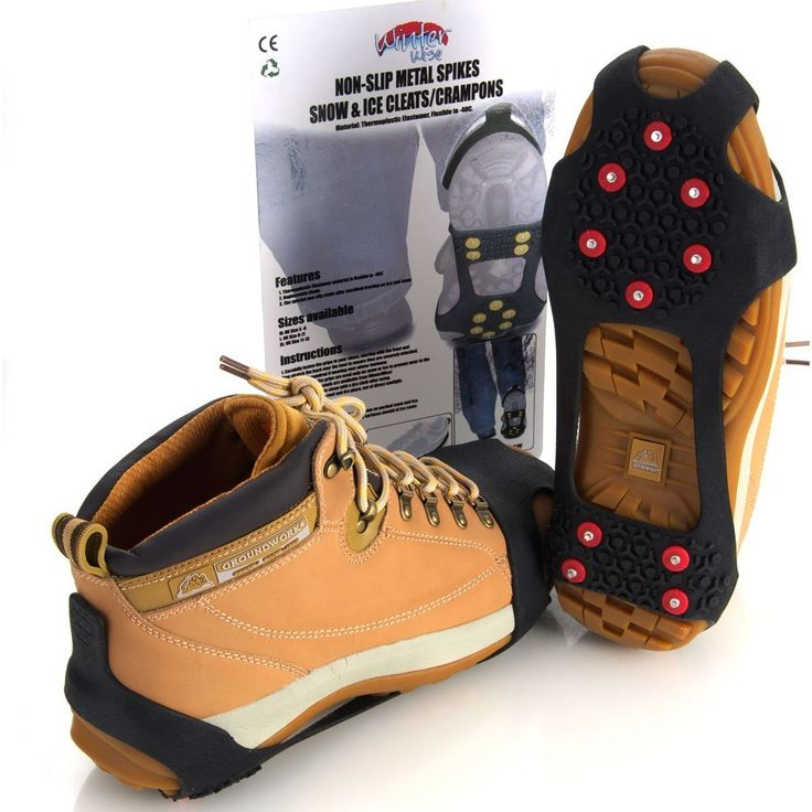 WinterWise-Snow Grips-Ice Grips-Snow-Ice-Grips-Winter-Climbing-Hiking-Travel-Shoes-Cleats-S-M-L-XL