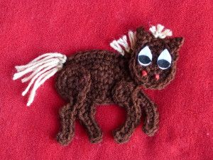 Curly the Horse Applique