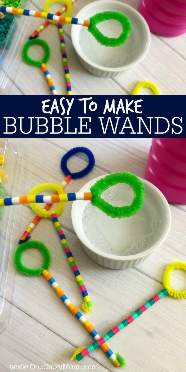 DIY Bubble Wand – Learn how to make a bubble wand